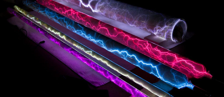 Crackle Tubes Plasma Display